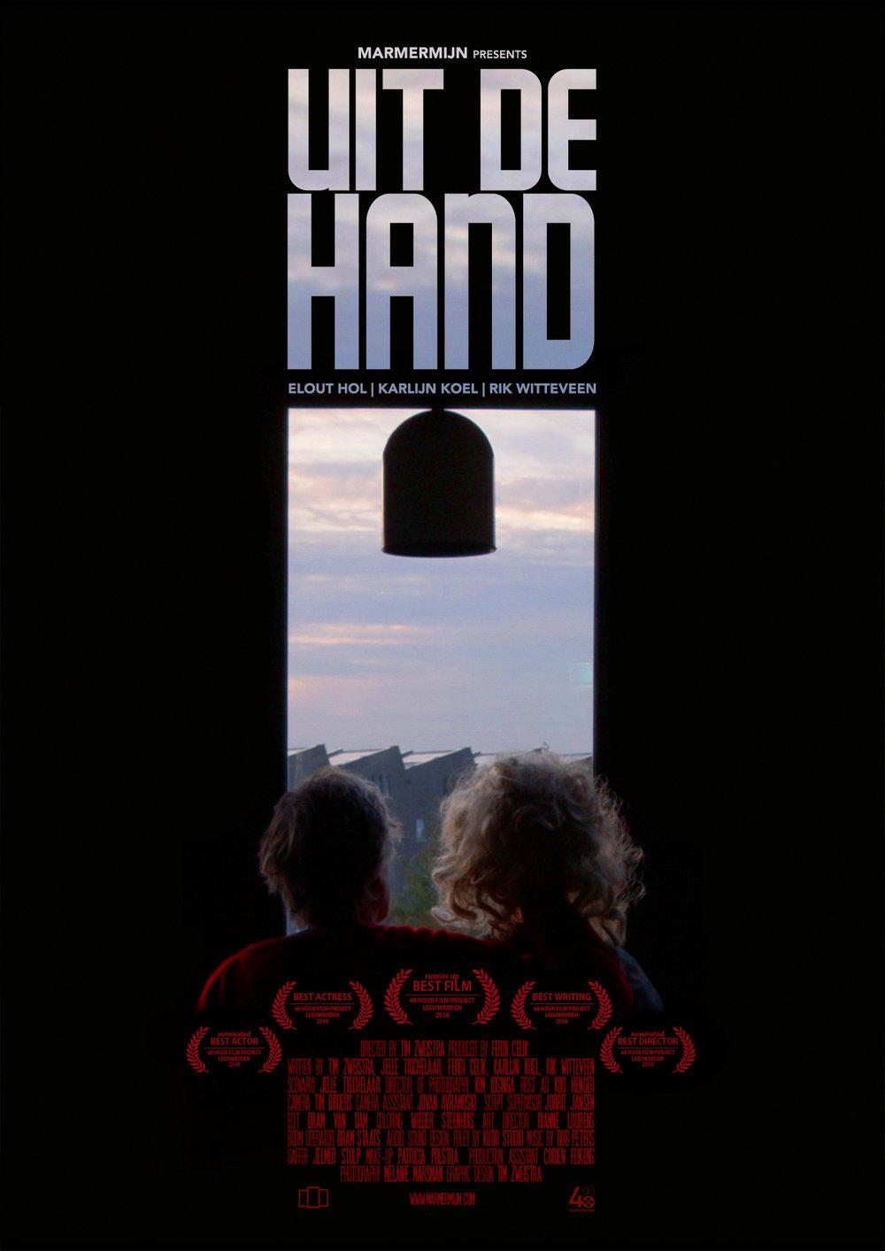 UIT DE HAND - POSTER