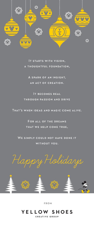 Holiday Card copy: Diana Fadal