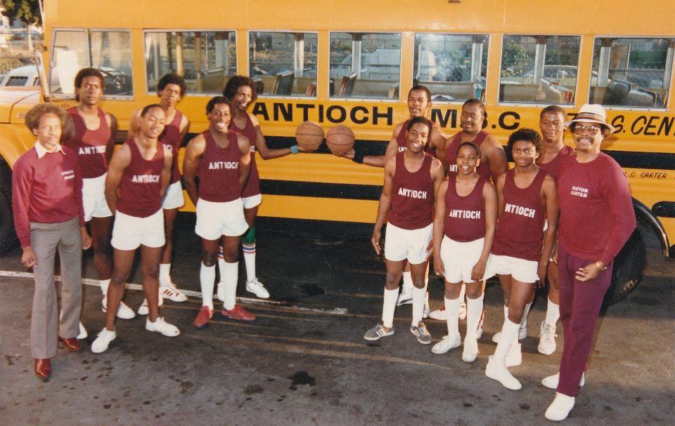 First Antioch Basketball Team