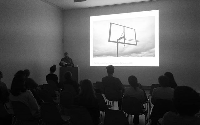 Vukasin Nedeljkovic presenting #AsylumArchive today @thehughlane for our #BasicTalks