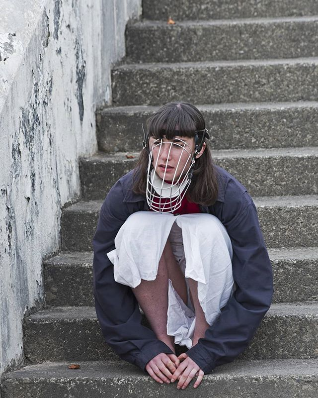 For our next Basic Talk we are very excited to welcome performance artist Léann Herlihy. Please join us at @thehughlane on Friday 12th October at 1pm, where Léann will discuss her practice. Concerned with the intersection of invisible power structures, Léann addresses the position of the female body as a focal point of repressed histories and political desires.  Admission is free. Image courtesy of Léann Herlihy #BasicTalks #BasicSpace #LéannHerlihy #HughLaneGallery