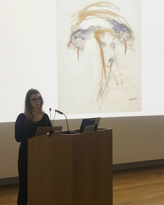 A few snaps from our final Basic Talk of 2018, with writer and researcher Sue Rainsford who read a wonderful personal essay. Thank you to to Sue @humbirdrain for sharing this with us! If you missed today's talk, you can look forward to listening online - keep an eye out on our website and social media in the coming weeks for further information. Our December Basic Talk took place in conjunction with @pallas.projects.studios #periodicalreview8 which continues until 19 January 2019. Thank you to @thehughlane for their continuous and wonderful support in making our Basic Talks series happen. Coming up for our January Basic Talk ~ artist Marcel Vidal in conversation with Frank Wasser!