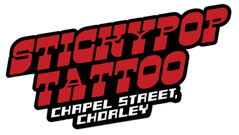 Stickypop tattoo