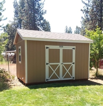 Paulina Peak Storage Shed - Inspired by the scenic backdrop of Central Oregon.