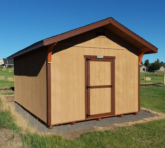 Ponderosa Storage Shed - Inspired by Central Oregon's towering pine trees.