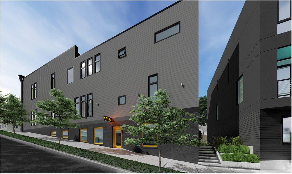 Unit 102 | $245,000    1 bed 1 bath 840 sq. ft. $245,000 basement storage + parking space