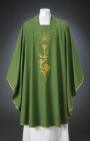 Chalice Communion Chasuble Wool $320