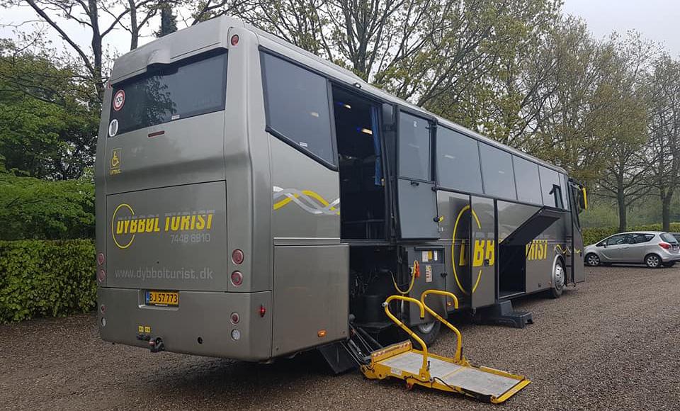 Bova liftbus fra Dybbøl Turist
