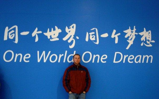 Volunteering at Beijing olympics