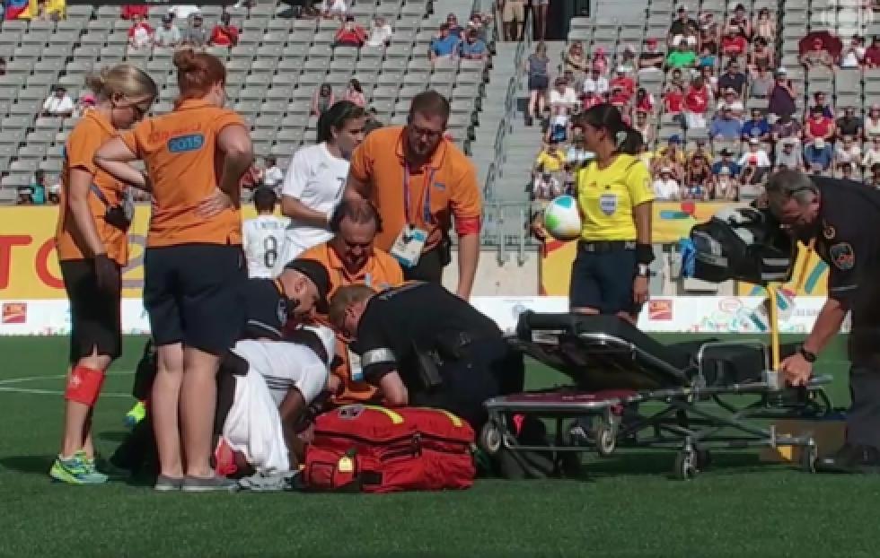 Head Physician Soccer at Pan Am games 2015