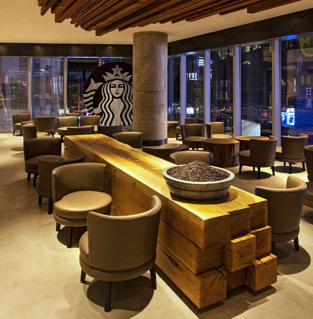 Chinese Starbucks location , Quartz, 2013