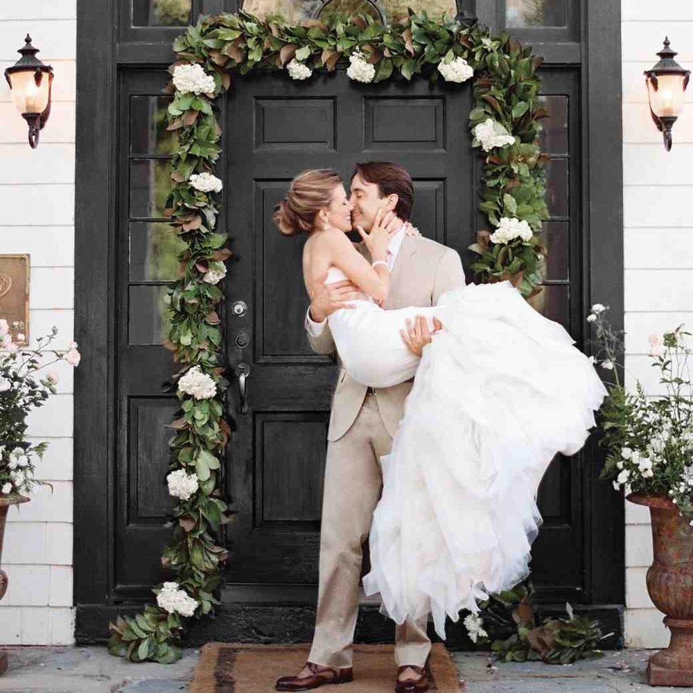 Joanna + Kyle - Martha Stewart Weddings