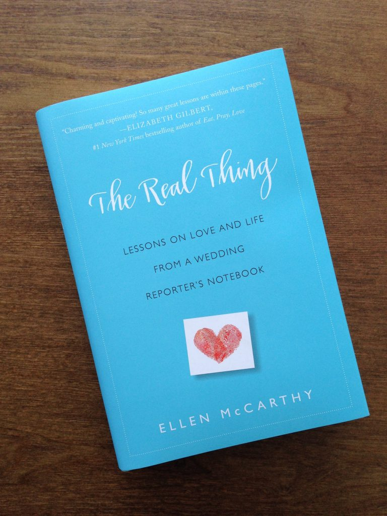 The Real Thing by Ellen McCarthy with title treatment by Meant To Be Calligraphy.jpeg
