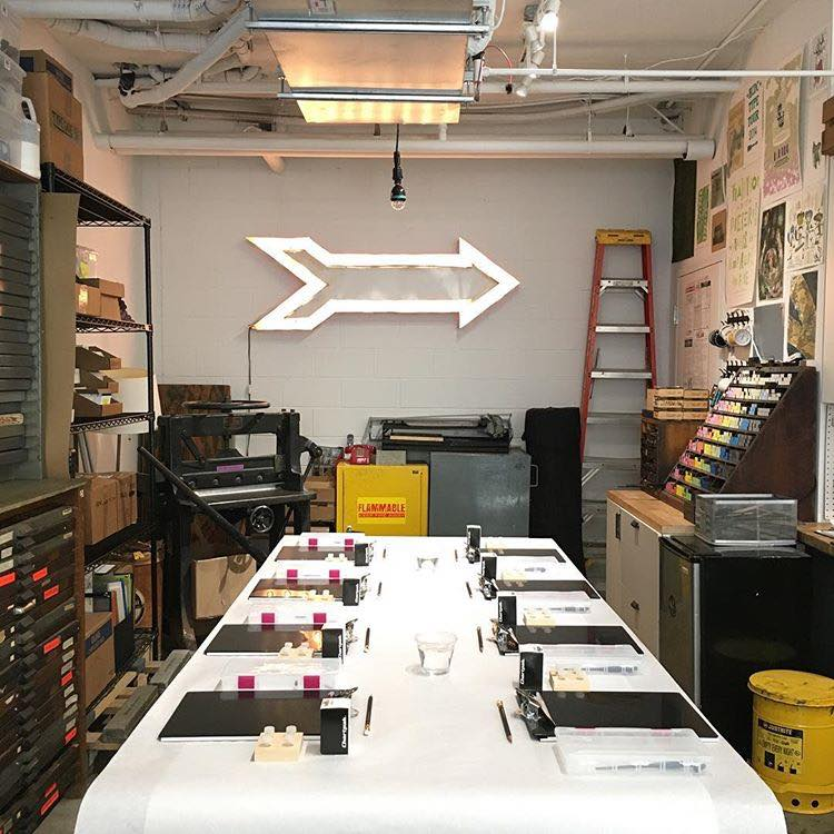 Meant To Be Calligraphy Workshop at Typecase Industries in Washington DC.jpg