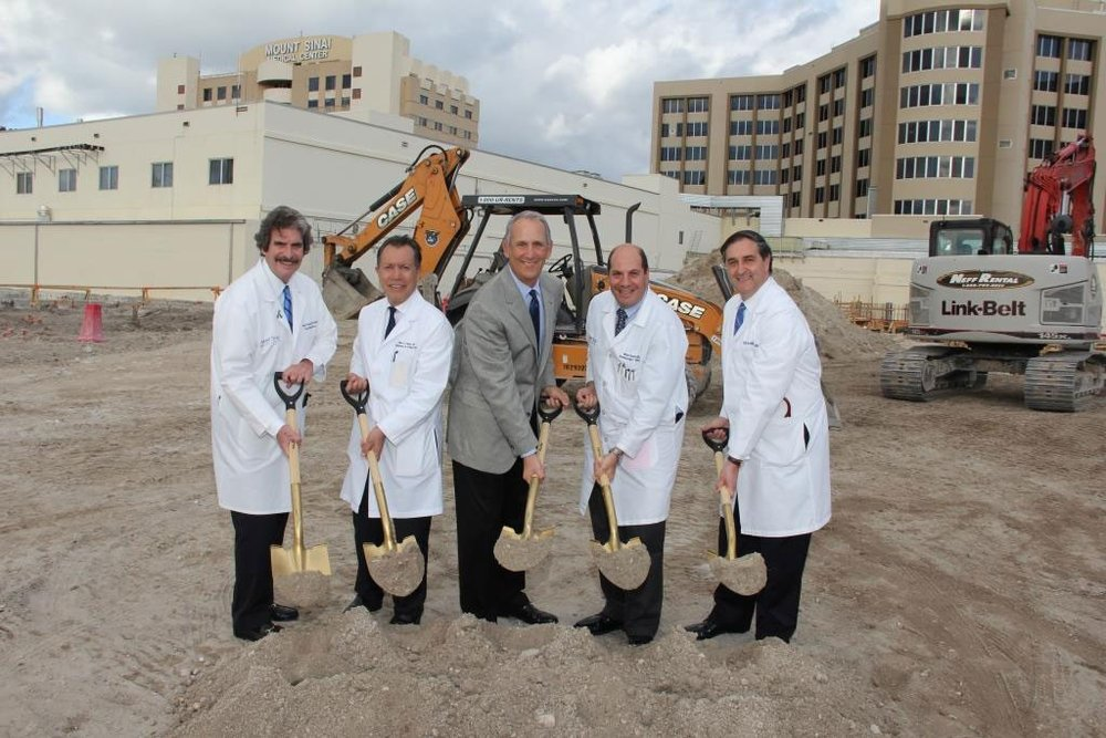 Mount Sinai Medical Center Constructs New Surgical Tower