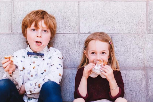 The kids of Grizzly Baked Goods, Daisy and Oliver