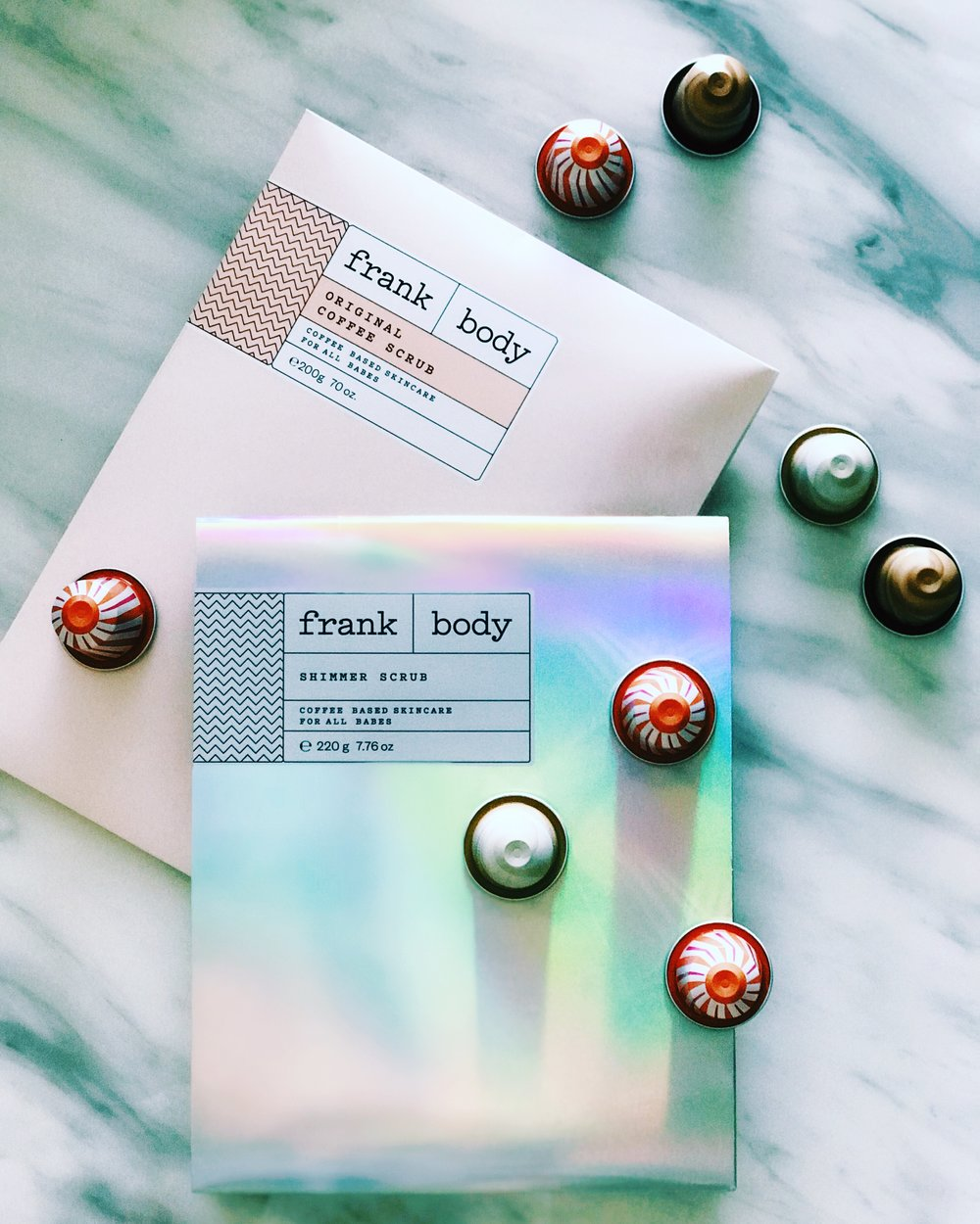 Frank Body | Original Coffee Scrub 200G $16.95 AU   Frank Body | Shimmer Scrub 200G $19.95 AU - Limited Edition