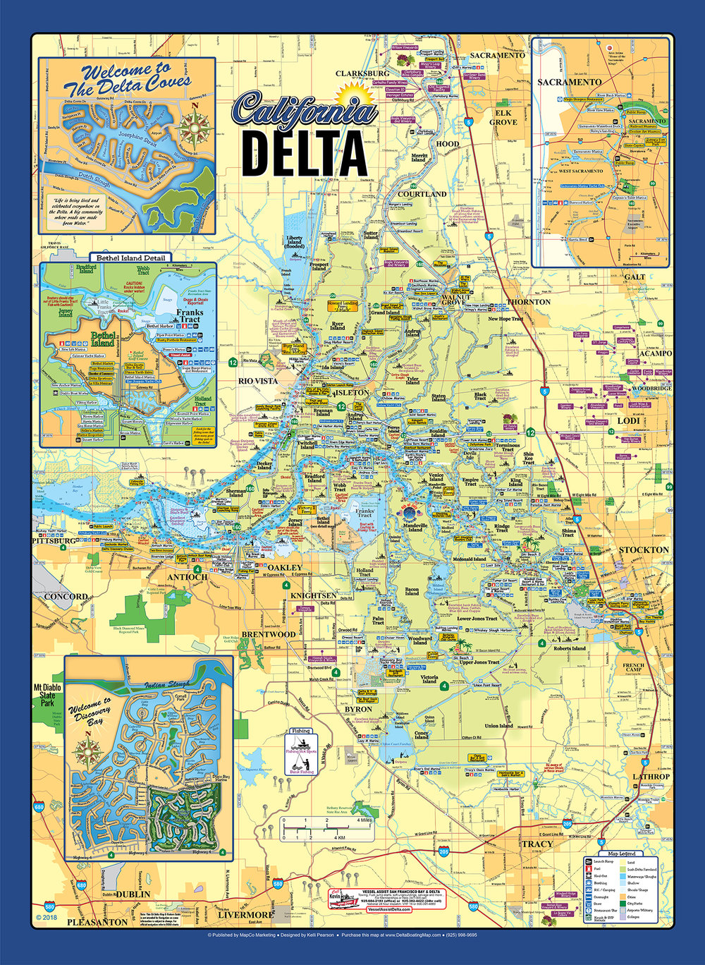 Custom Large Delta Wall Poster