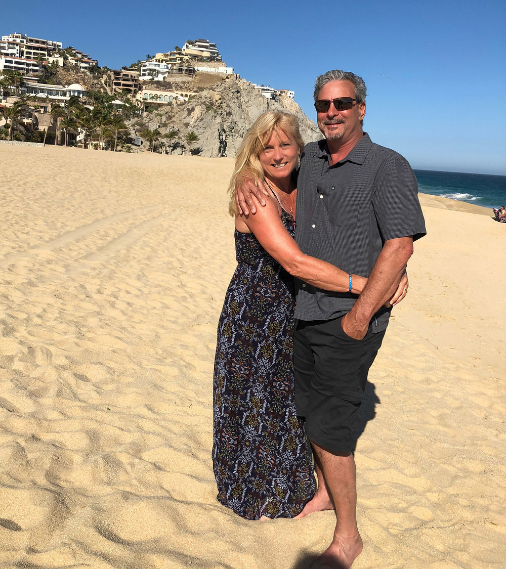 Pete & I in Cabo this year