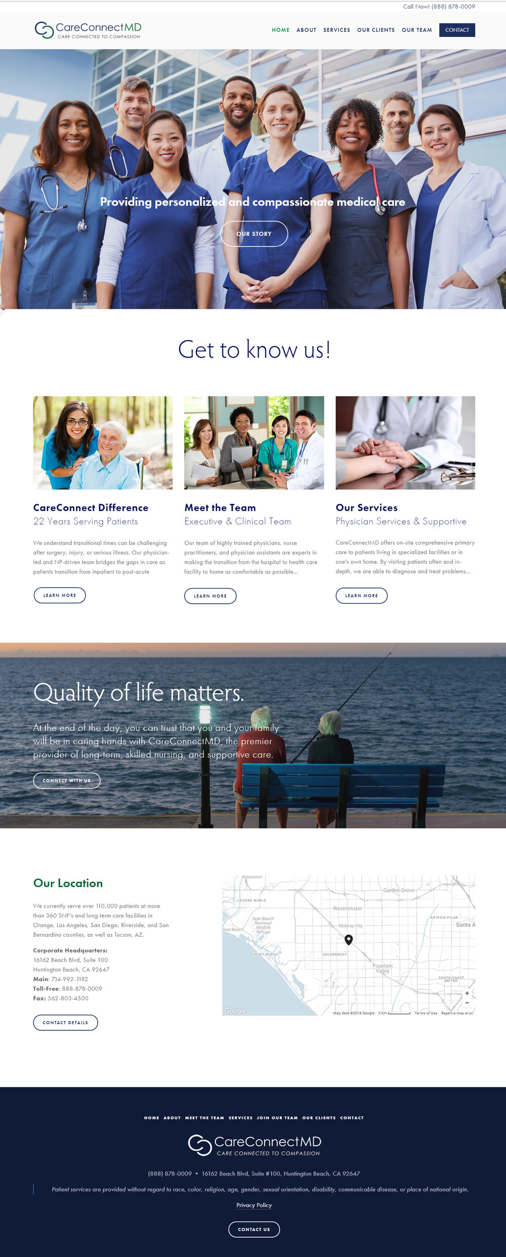 CareConnectMD - Healthcare Website