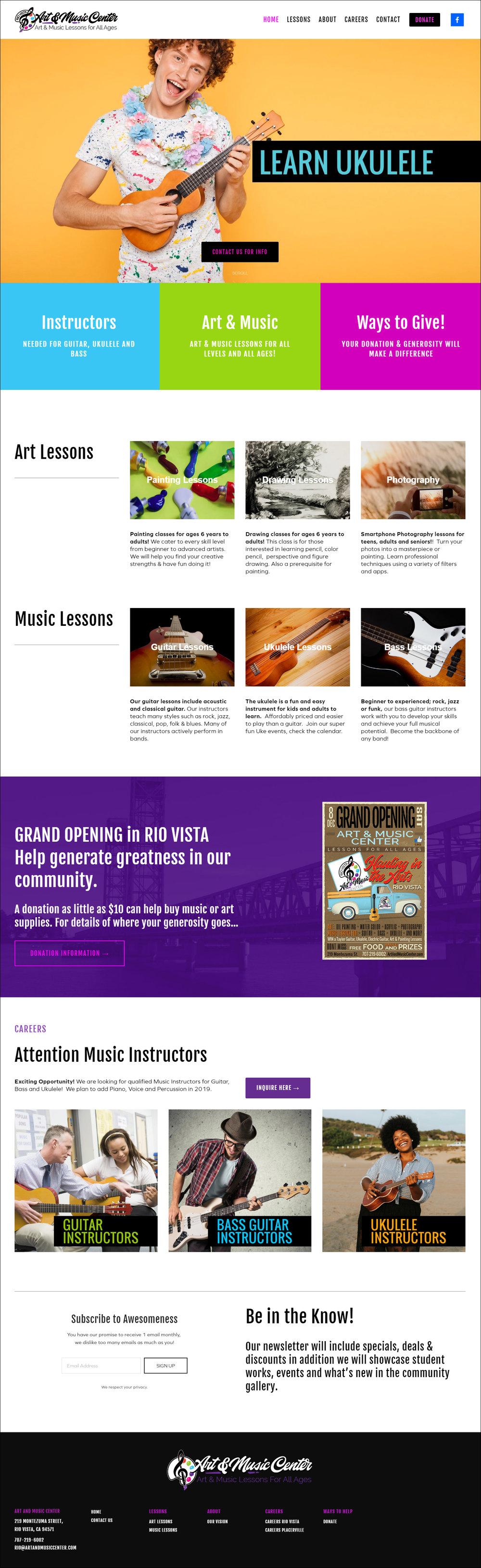 Art & Music Center - Non Profit