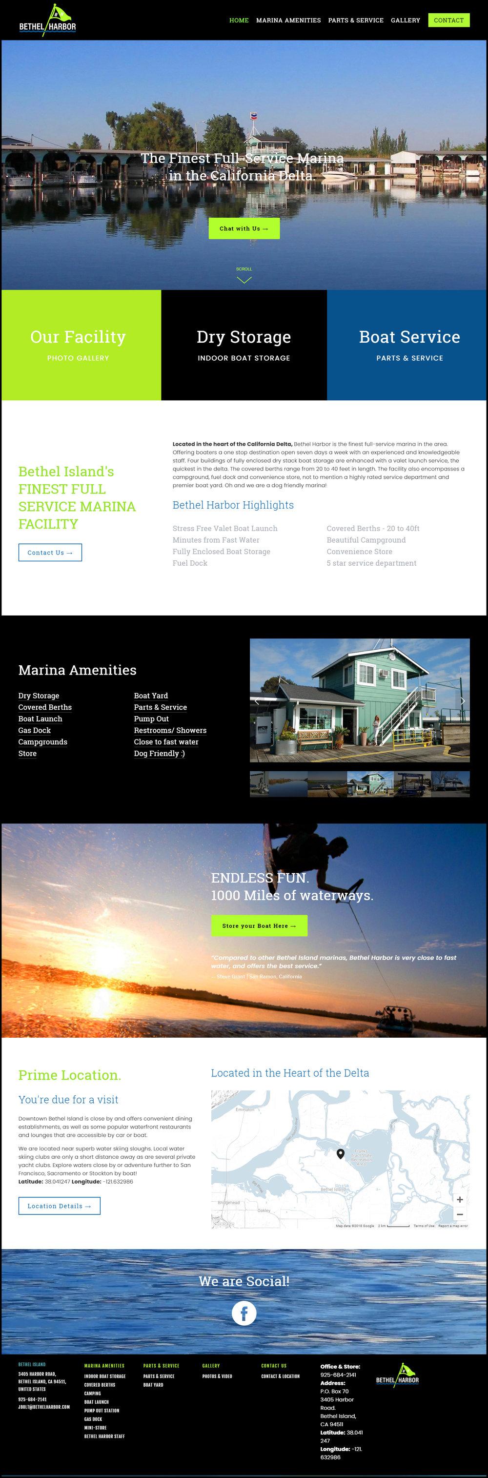 Bethel Harbor & Marina