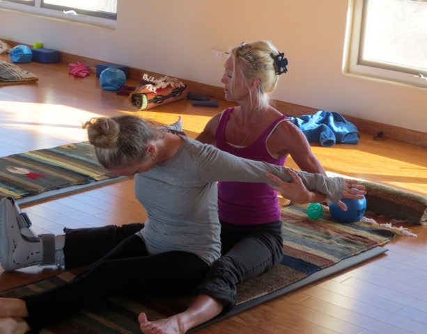 Stretching with Kathleen Conklin