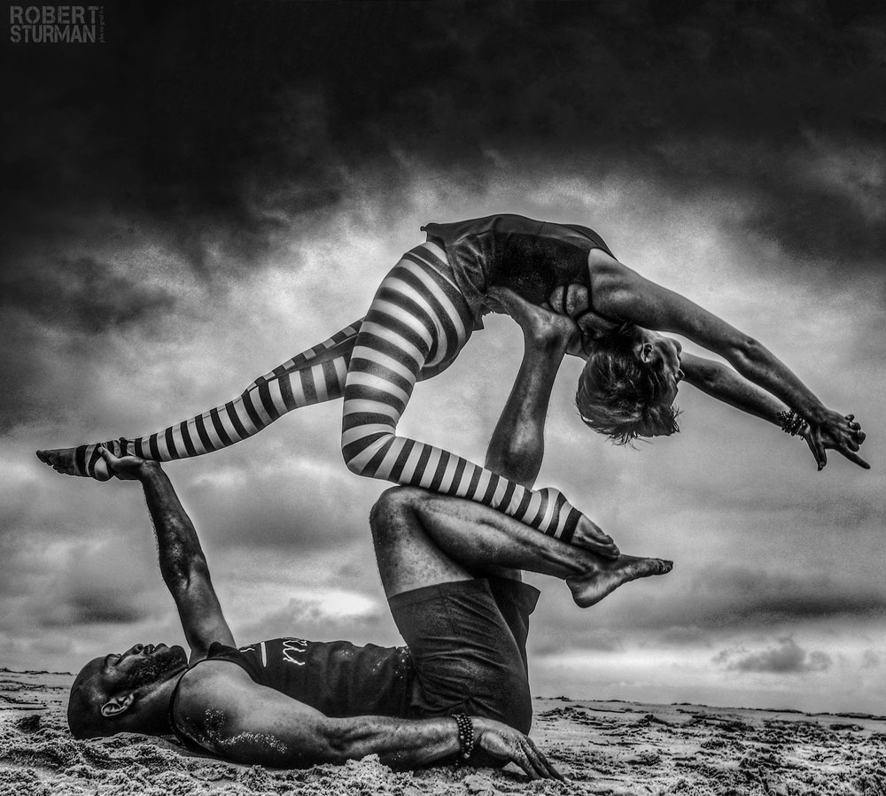 Robert Sturman photograph of two dancers