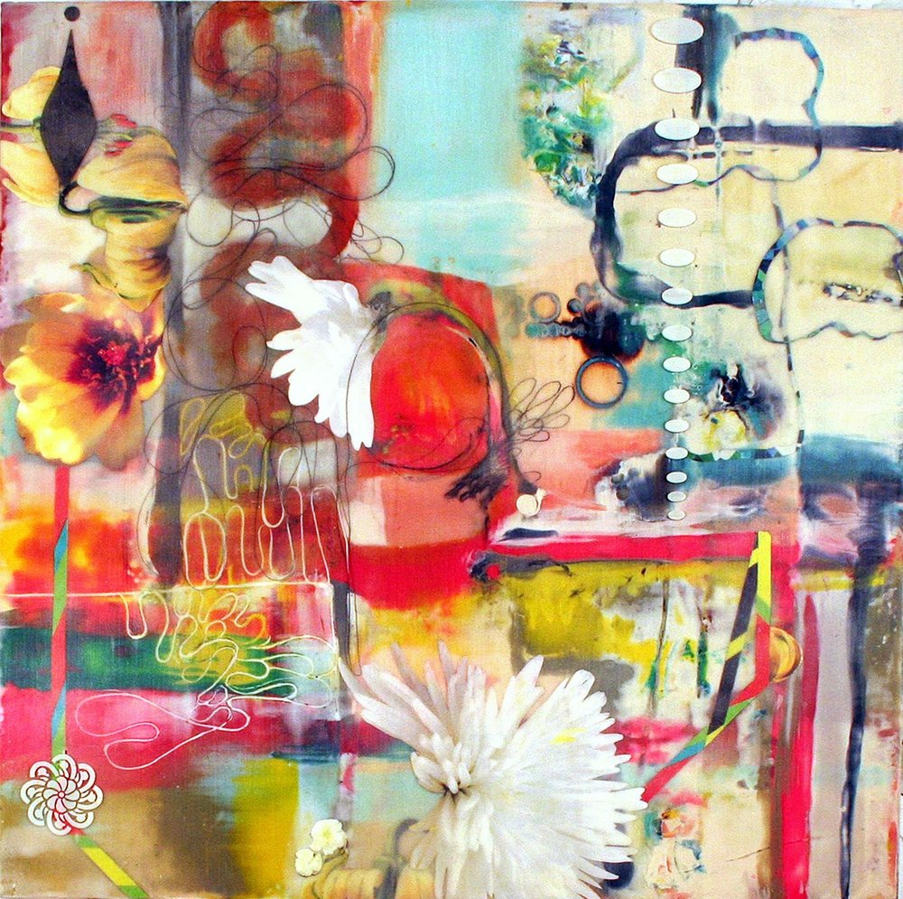 Painting by Lorraine Glassner