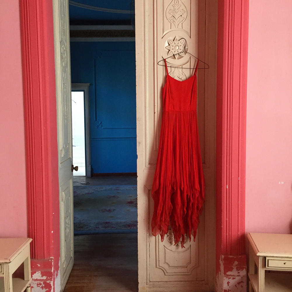 Red Dress by Aline Smithson