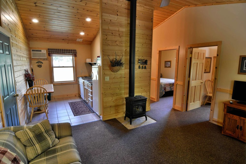 Cottage interior, lodging partner Woodside Cottages