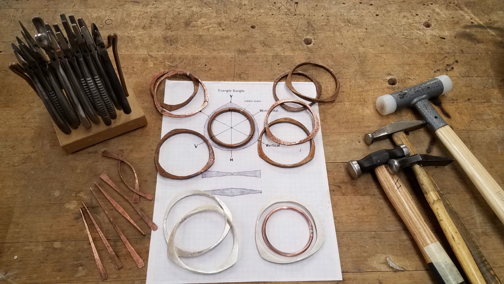 Metalsmithing jewelry retreat