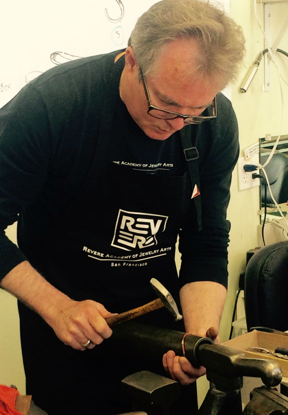 Jewelry forging retreat with Michael Sturlin