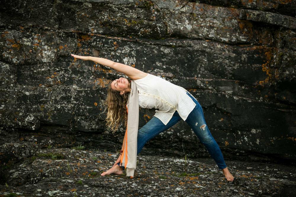 Amie Heeter yoga instructor
