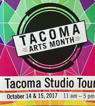 TACOMA STUDIO TOUR   Catalog featuring participating artists from 2017