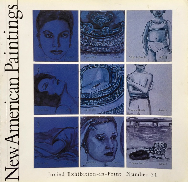 NEW AMERICAN PAINTINGS  Volume 6, Number 6, 2001 Juror: Carl Belz 2001, Pacific Coast Issue #31
