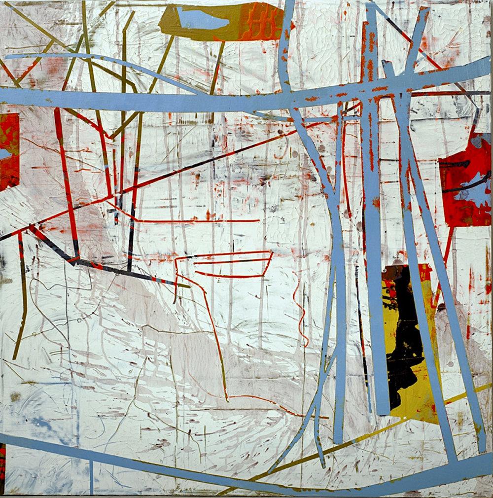 Mappa Mundi Blue