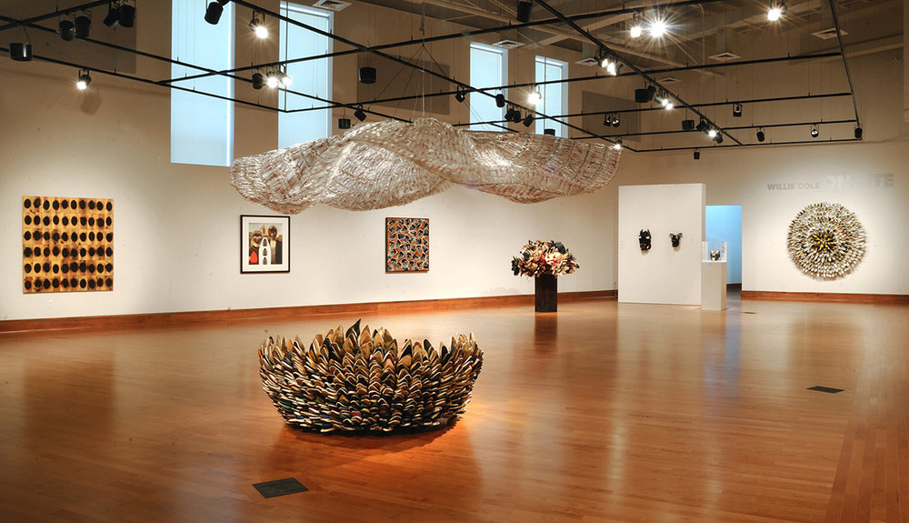 Willie Cole: Installation   View of the David C. Driskell Center Gallery   Image: Greg Staley