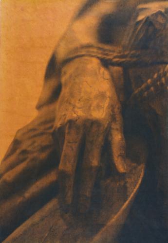 """""""Gesture X"""" by Linda Schwarz 2002"""