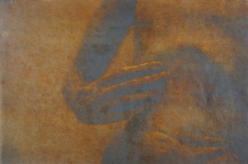 """Gesture XI"" by Linda Schwarz 2002"