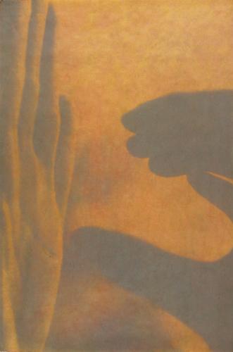"""Gesture XIV"" 3/5 by Linda Schwarz 2002"