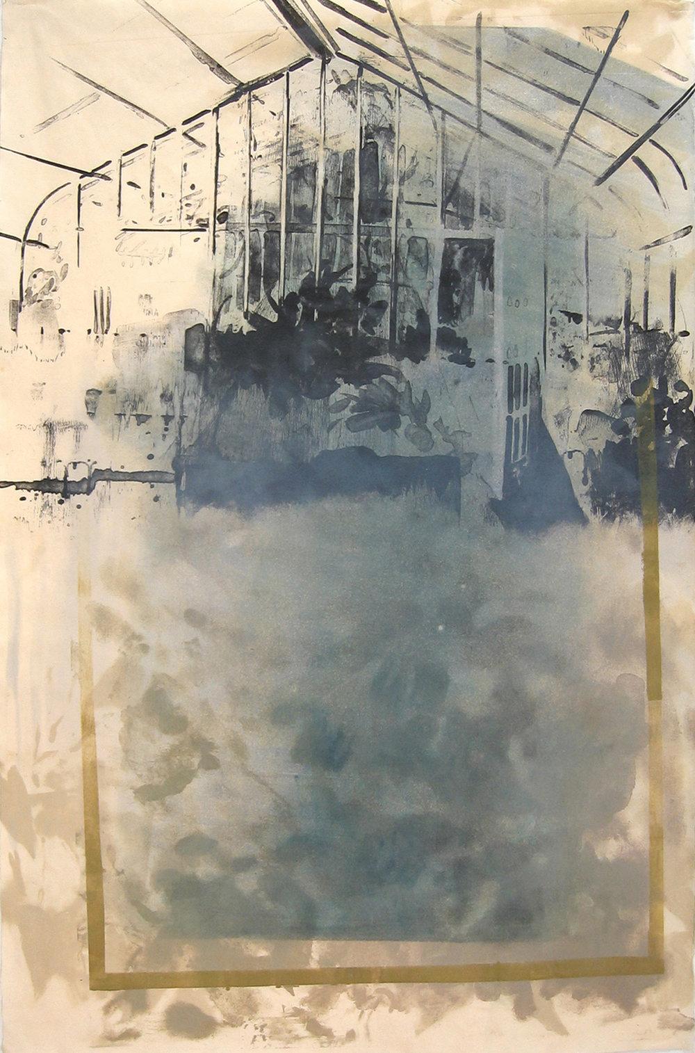 """Stone Greenhouse II/III"" by Joel Janowitz 2005"