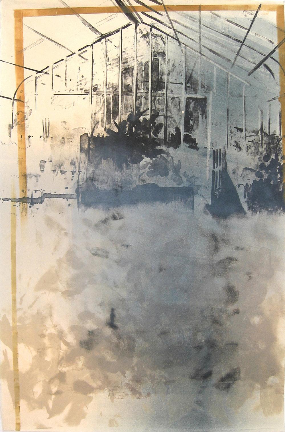 """""""Stone Greenhouse I/III"""" by Joel Janowitz 2005"""