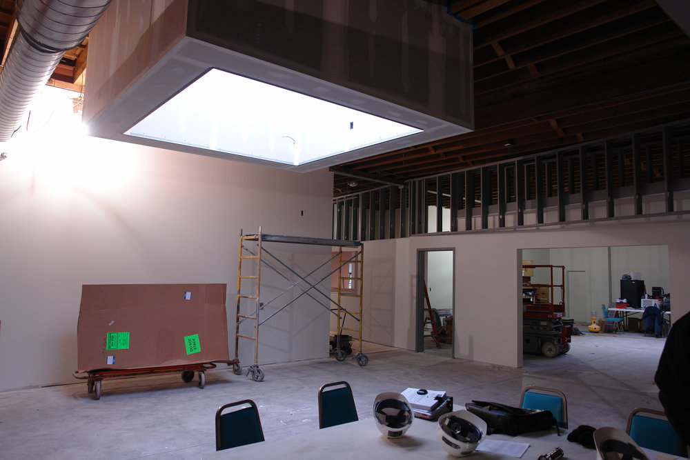 Construction of Pro-Shop