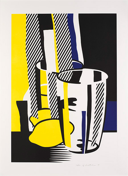 Roy Lichtenstein,  Before the Mirror,  1975 Collection of Jordan D. Schnitzer © Estate of Roy Lichtenstein