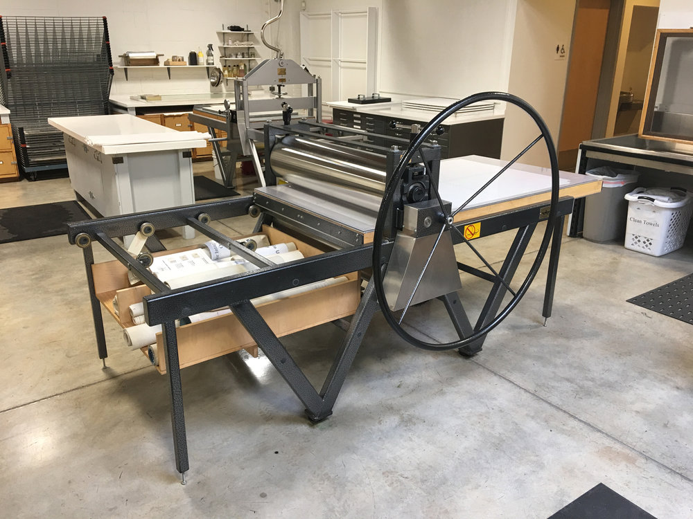 Large intaglio press