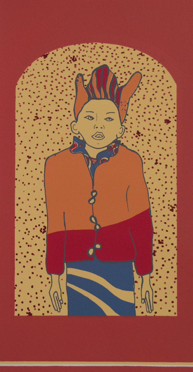 j.a. feicht   Boy   Screenprint