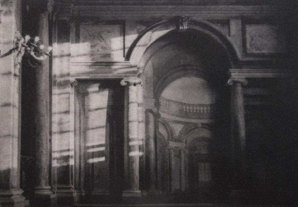Nancy A. Johnson   Kungliga Slottet II   Polymergravure