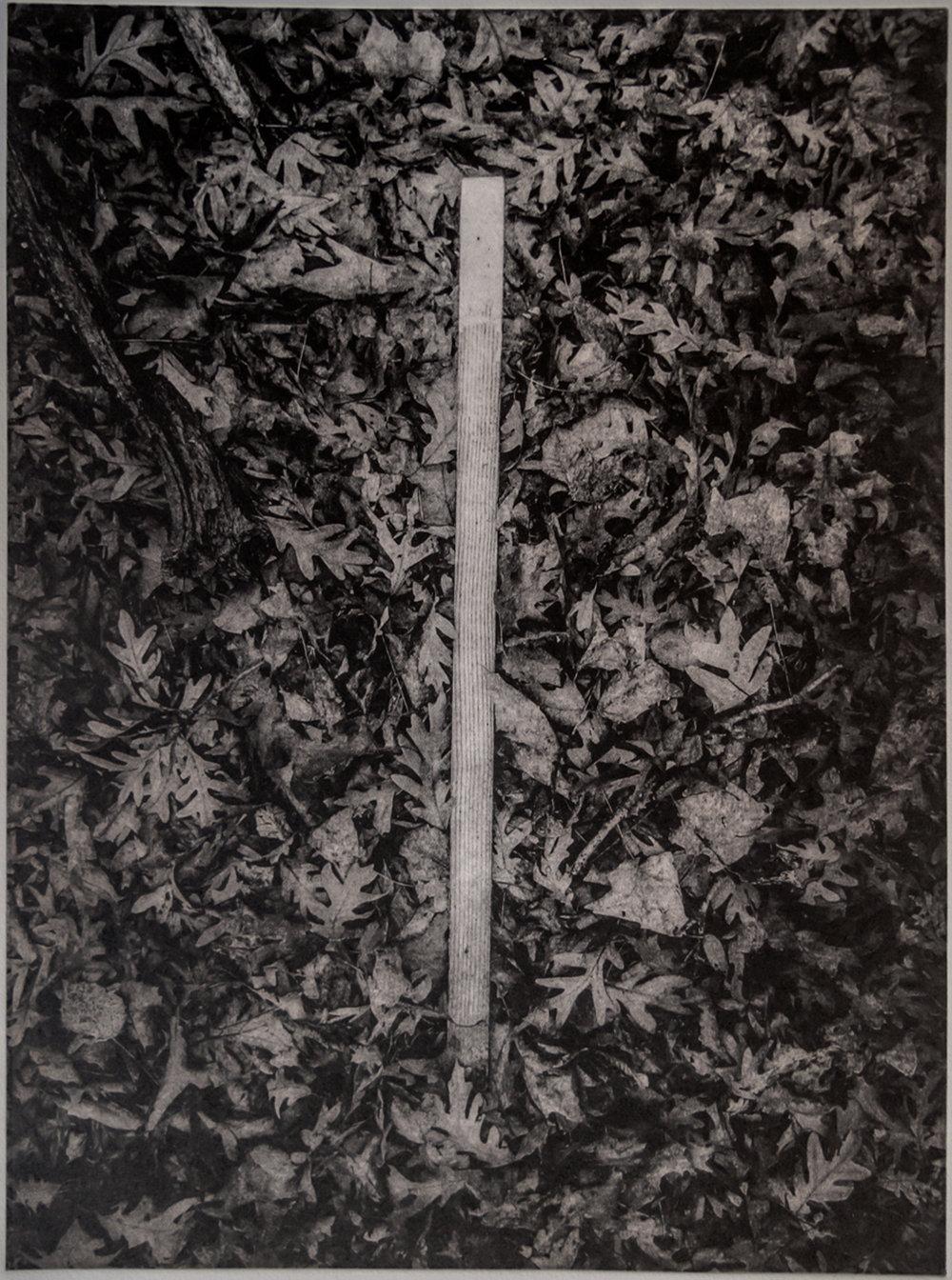 John Pearson, Path Marker, polymergravure