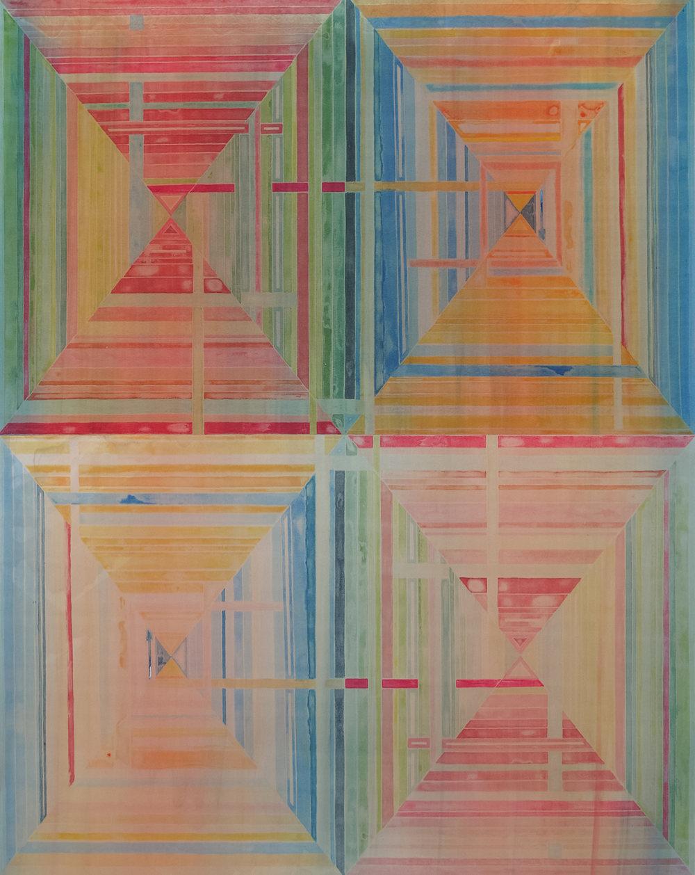 Josh Bindewald, Untitled, monotype